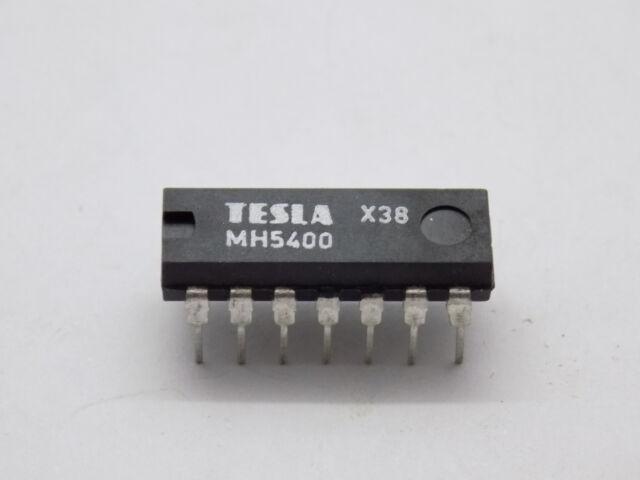 10x Tesla MH5400 2-input Nand-function Logic Gate Dip-14 | eBay