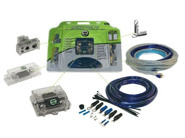 Scosche E3200 3200 Watt Dual Amplifier Wiring Kit Wiring Diagram