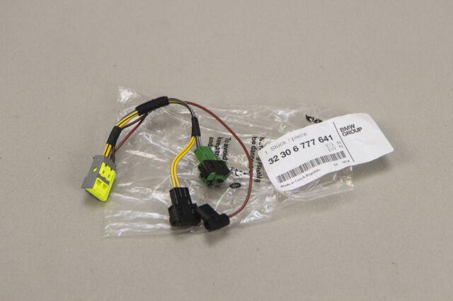 Genuine bmw oem steering wheel wiring harness