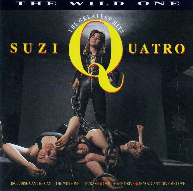 SUZI QUATRO : THE WILD ONE - THE GREATEST HITS / CD (EMI CDP 7 93986 2)