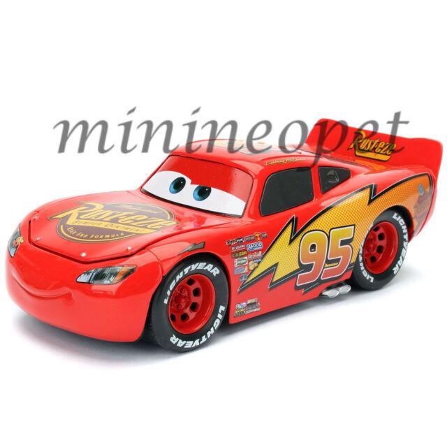 jada toys disney pixar cars movie lightning mcqueen 1 24 98099 red ebay. Black Bedroom Furniture Sets. Home Design Ideas