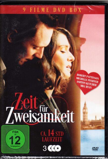 Zeit für Zweisamkeit / Herz, Schmerz + ewige Liebe in 9 Filmen auf 3 DVD
