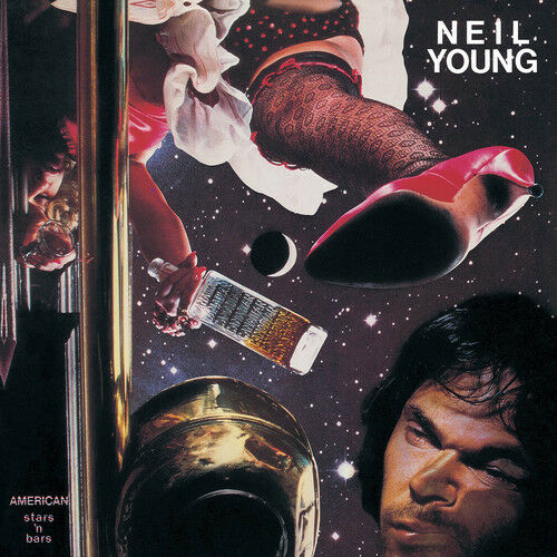 Neil Young - American Stars 'n Bars [New Vinyl LP] Black, 140 Gram Vinyl