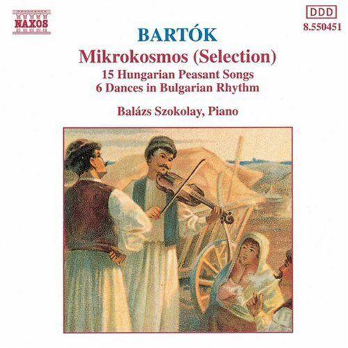 Bal zs Szokolay, B. - Mikrokosmos / 15 Hungarian Peasant Songs [New CD]