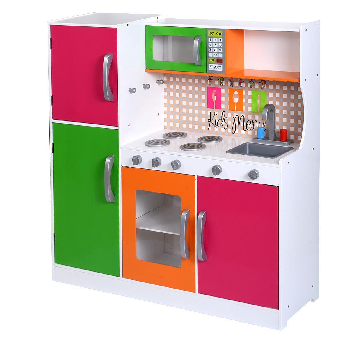 Wooden Play Kitchen | eBay