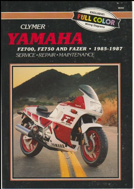 Yamaha f2700 f2750 and fazer 1985 1987 by clymer publications staff 1999 fandeluxe Choice Image