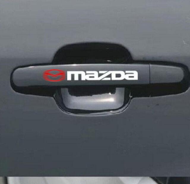 4pcs/set Reflective Auto Door Handle Bar Decal Vinyl Car Sticker for ...