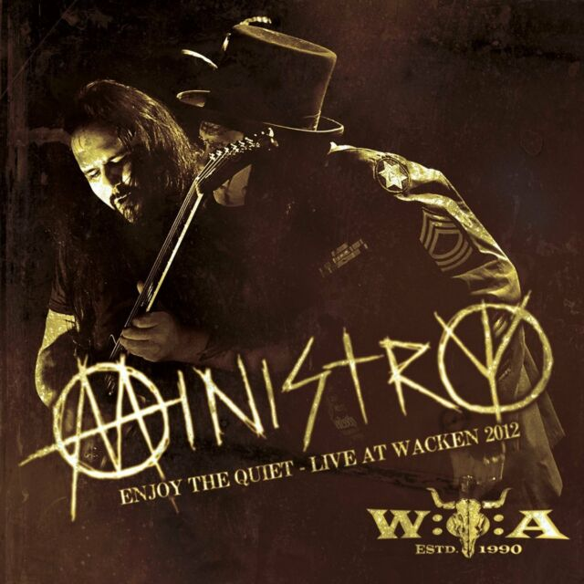 MINISTRY Enjoy The Quiet: Live At Wacken 2012 CD 2013