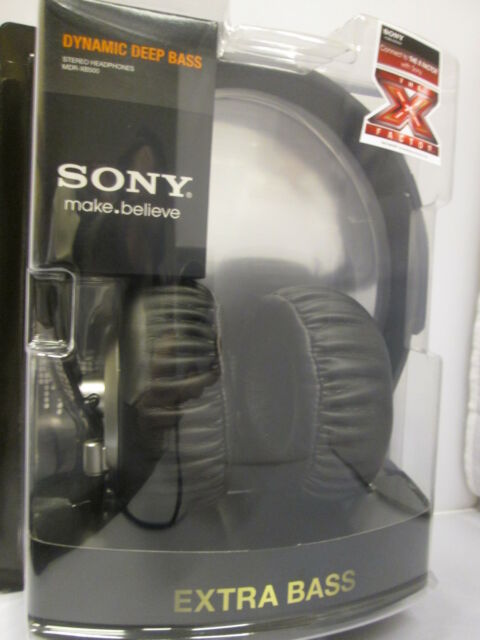 s l640 sony mdr xb500 headband headphones silver black ebay  at bakdesigns.co