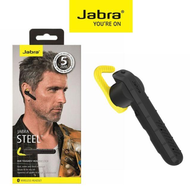 Bluetooth Headset 4.1 Jabra Steel Wireless Stereo Earbud Headphone IPhone Mobile