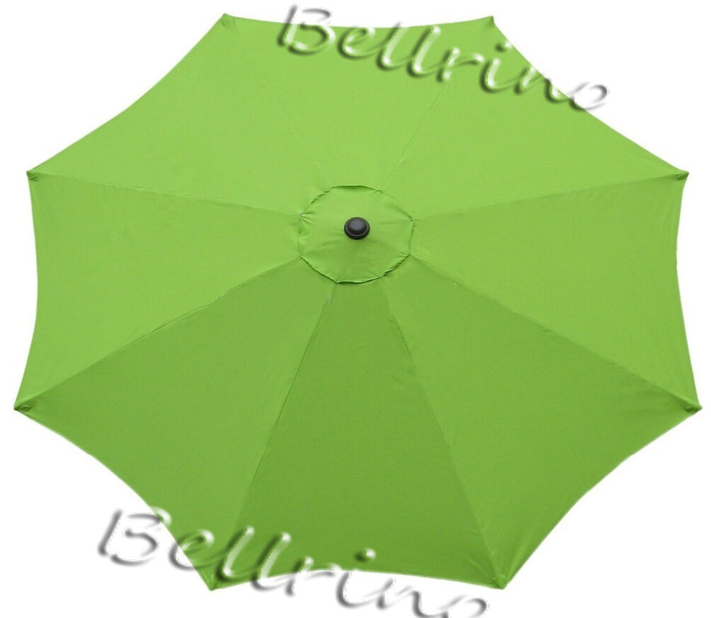 Picture 1 of 4 ...  sc 1 st  eBay & Sage Green - Umbrella Canopy 9 FT 8 Ribs Top Patio Market ...