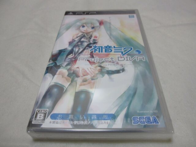 New 7-14 Days to USA. New Edition PSP Hatsune Miku Project Diva 1 Japanese Ver