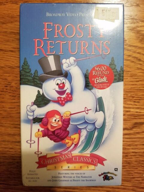 Broadway Video Christmas Classic - Frosty Returns - New / Sealed (VHS, 1993)