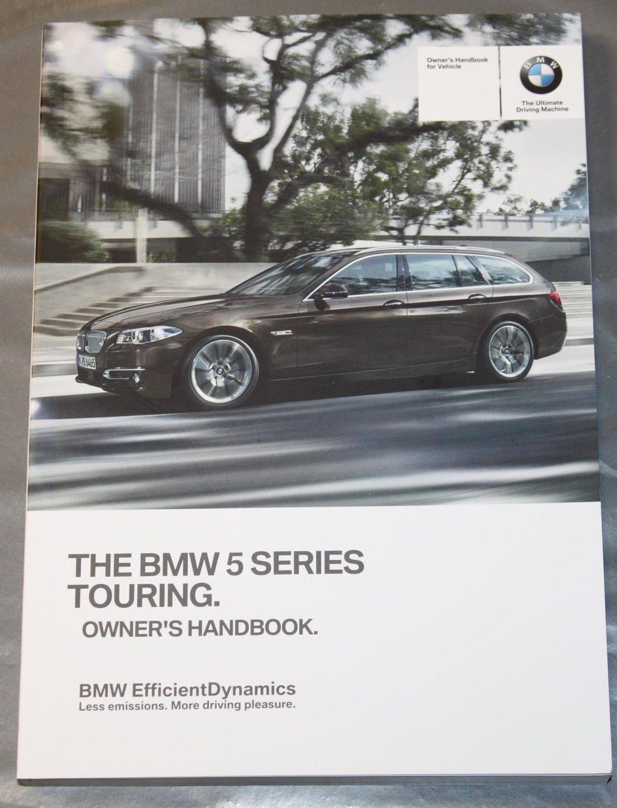 genuine bmw 5 series f11 estate handbook navi audio owners manual rh ebay com Next Generation BMW 5 Series BMW 5 Series Touring Space