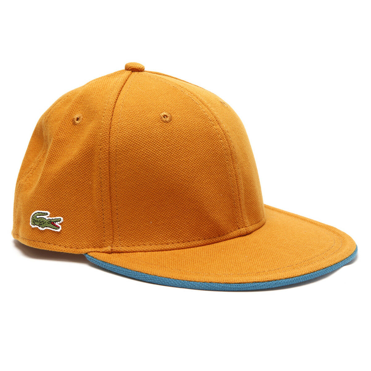 3d948fd759fd ... men fafc9 2513c coupon code lacoste mens l ve rk0450 flat brim hat cap  orange size m 57cm. ...