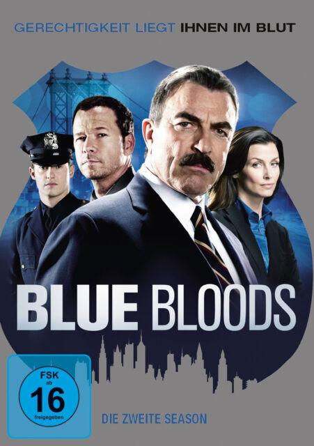 6 DVDs * BLUE BLOODS -  SEASON / STAFFEL 2 - Tom Selleck ~ MB # NEU OVP =