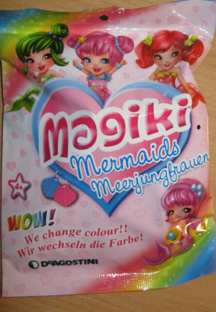 MAGIKI MERMAIDS - BRAND NEW - SEALED BLIND BAGS - 12 CHARACTERS TO COLLECT