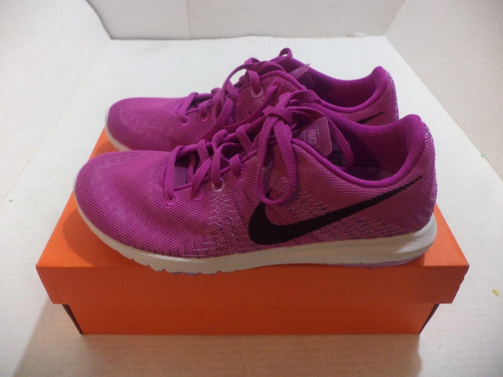 Nike Flex Fury Women Running Shoes Size 6-7.5 Color Fchs Flsh/Blck/Fchs Glw/Bld