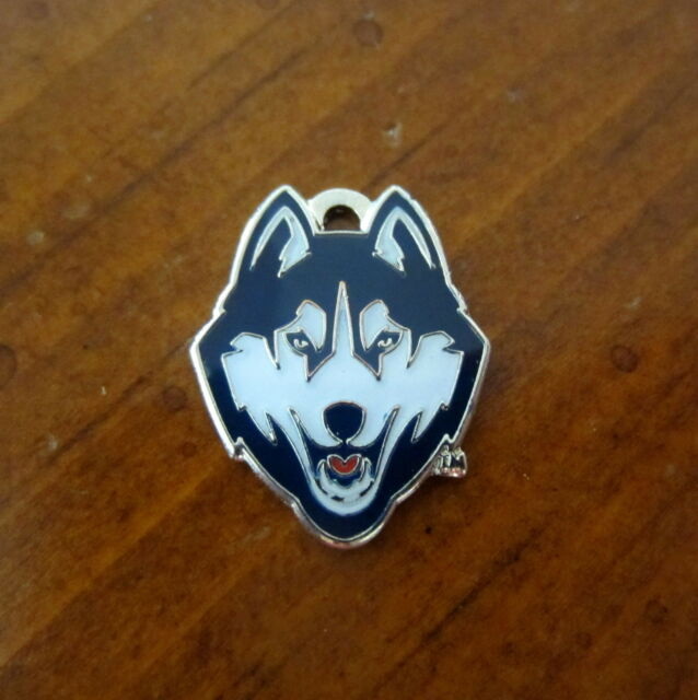 Uconn Huskies Logo Charm University Of Connecticut Bead Bracelet