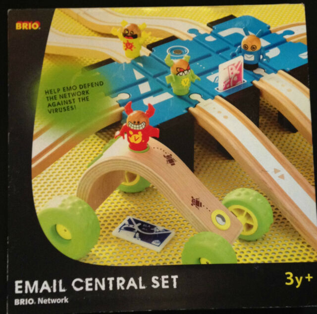 brio holzeisenbahn email central set 33281 unbenutzt. Black Bedroom Furniture Sets. Home Design Ideas