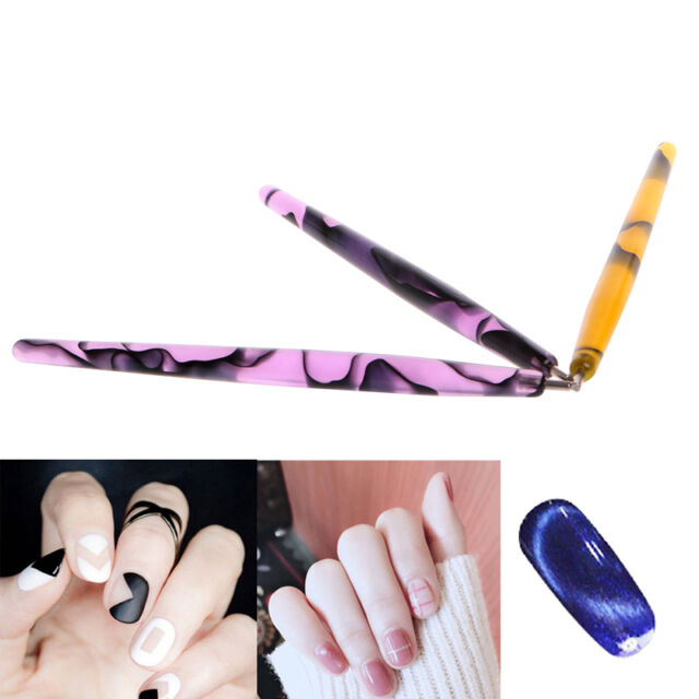 Polish Magnetic Pen 1pc Cat Eyes Magnet Slice UV GEL Magic Stick ...