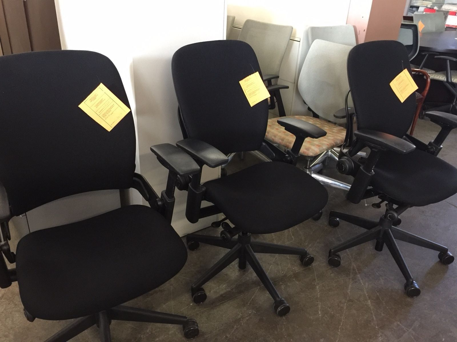 Executive Chair by Steelcase Leap V2 Model fully Loaded