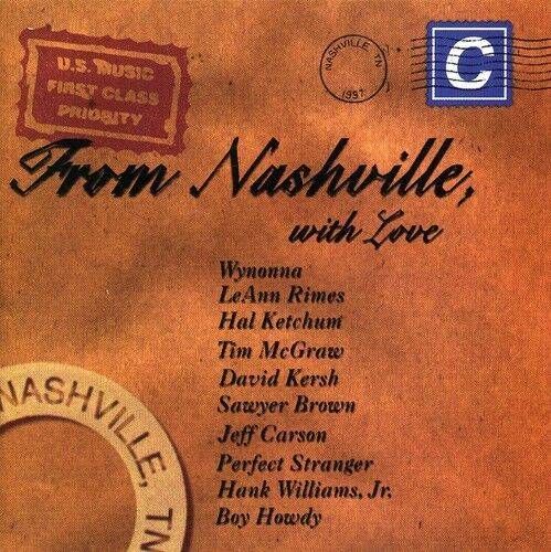 Various Artists - From Nashville with Love / Various [New CD] Manufactured On De