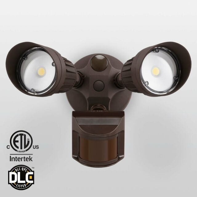 20w dual motion activated led outdoor security light photo sensor 20w dual head motion activated led outdoor security light photocell included aloadofball Choice Image