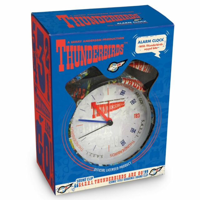 Thunderbirds Alarm Clock - Super classic style - Wake up to the TB 'Countdown'!