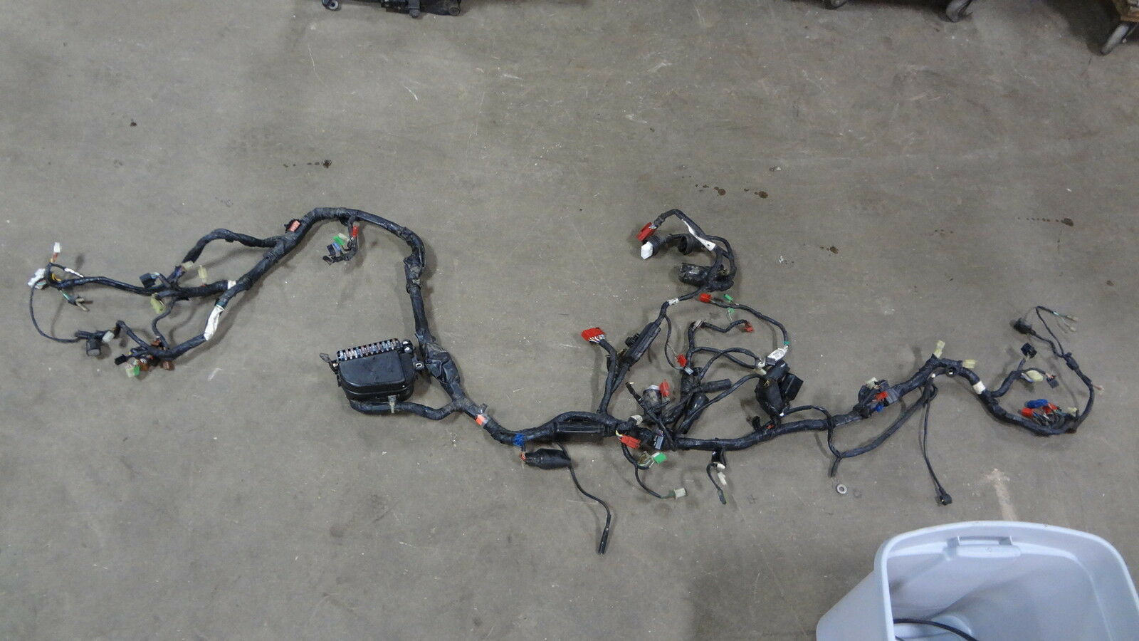 s l1600 88 honda gl1500 goldwing main wiring harness gl 1500 ebay m wire harness code at nearapp.co