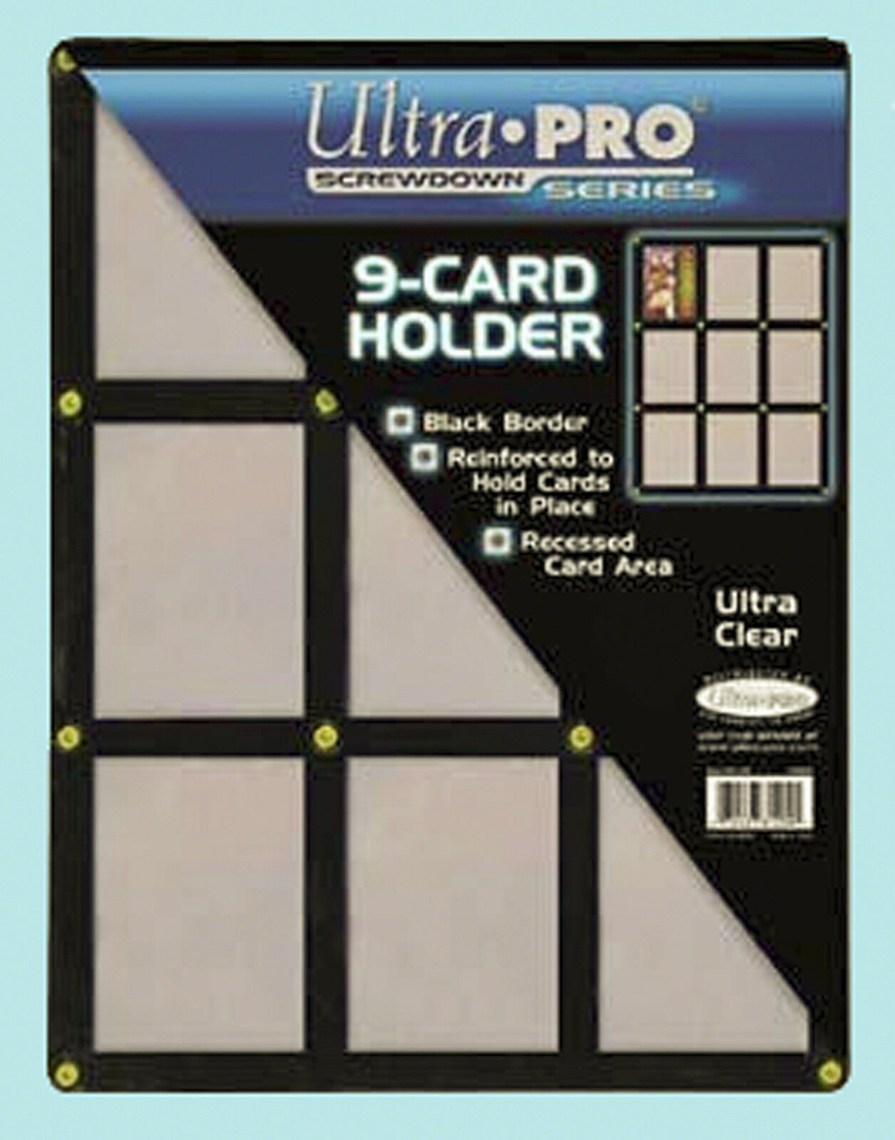 ultra pro screwdown storage display supplies