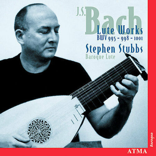 BACH: LUTE WORKS BWV 995, 998 & 1001 NEW CD