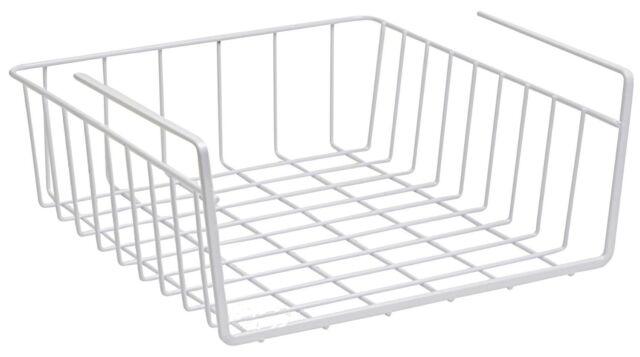 Under Shelf Basket Wire Rack   Slides Under Shelves For Extra Cabinet  Storage.