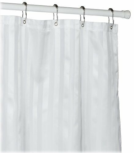 Croscill Fabric Shower Curtain Liner, 70-inch by 72-inch, White | eBay