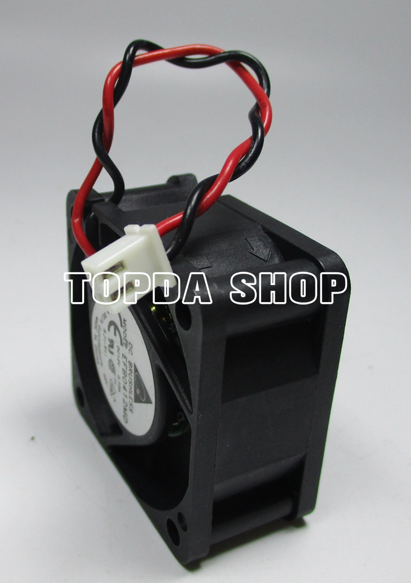 Delta EFB0412MD Double Ball Switch Cooling Fan Dc12v 0.10a 40mm×40mm ...