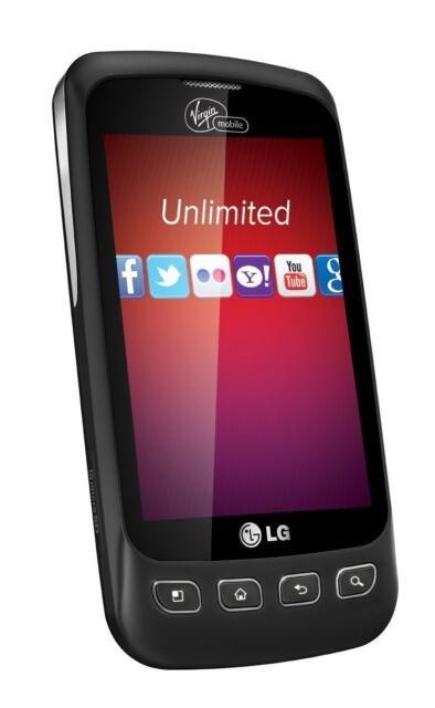 LG Optimus V VM670 - Black (Virgin Mobile) Smartphone