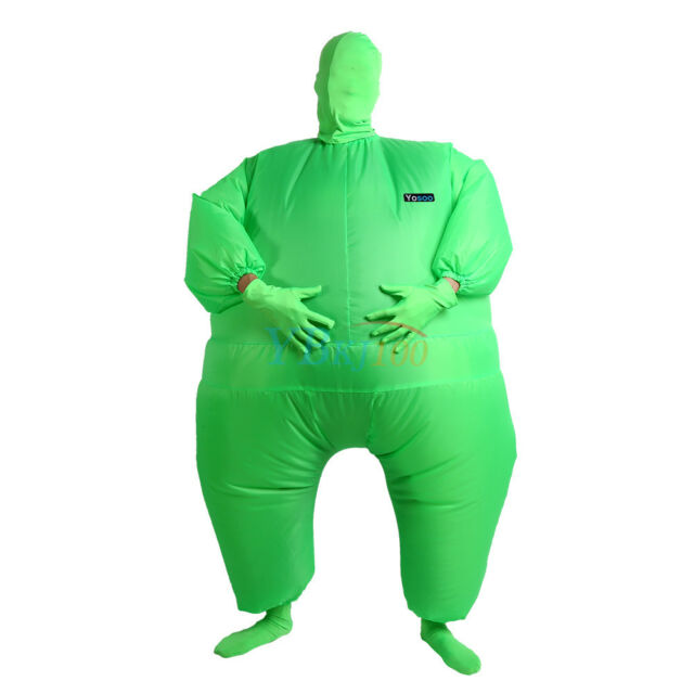 Picture 12 of 12  sc 1 st  eBay & Teens/adult Blow up Fat Chub Suit Costume Party Inflatable Fancy ...