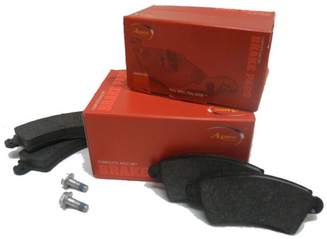 Brake Pads (Front) fits Ford - Fiesta MkVII  - Fiesta Van - 10/2008 > APEC 1835