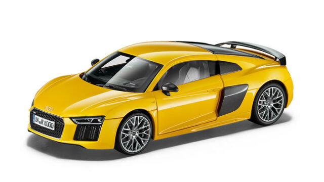 Audi R8 Coupé Modèle De Voiture 1:18 Modèle 2015 Vegas Jaune Jaune - 5011518415