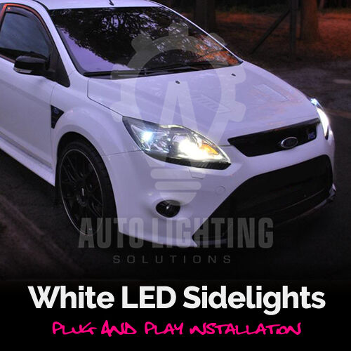 Ford Focus Mk St Rs   Xenon White Led Side Light Sidelights Upgrade Bulbs