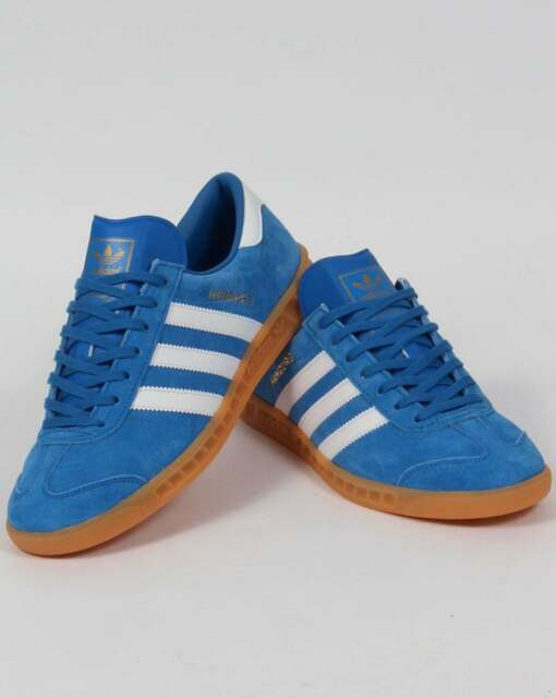 NUOVO Uomo Adidas Amburgo Originals s76697 Uomo NUOVO Sneaker Scarpe Sportive Blu Blue 2017 0a0798