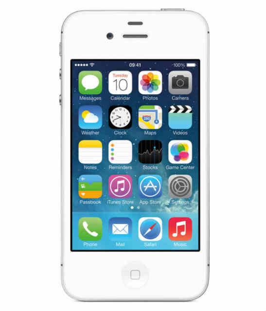 Smartphone Apple iPhone 4s - 16 Go - Blanc - Téléphone Portable Débloqué