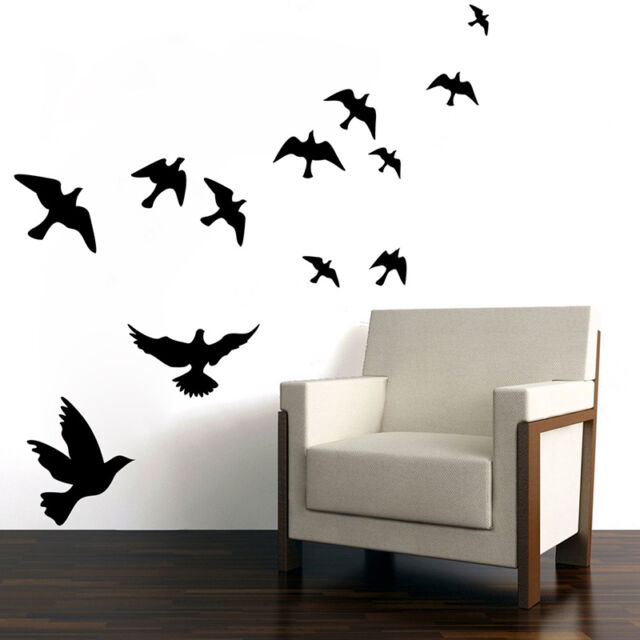 DIY Vivid Birds Wall Decals Mural Stickers Removable Home Room Decor Vinyl  Art