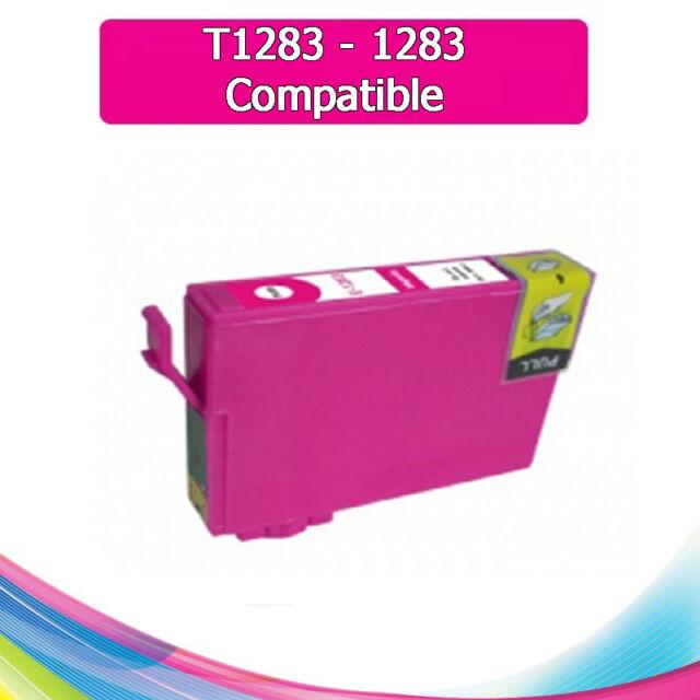 TINTA MAGENTA T1283 1283 COMPATIBLE PARA IMPRESORAS NONOEM EPSON CARTUCHO ROSA