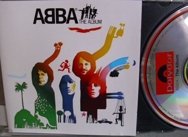 Abba- The Album- POLYDOR 0040150- Made in Germany- lesen