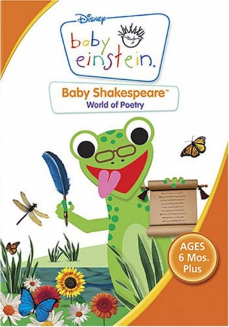 Baby Einstein: Baby Shakespeare, World of Poetry (DVD)~~~Disney~~~NEW & SEALED
