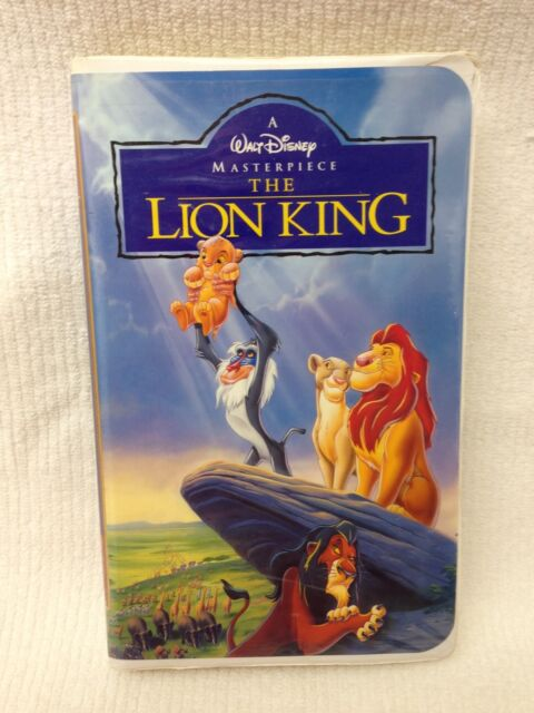 the lion king  vhs  1995