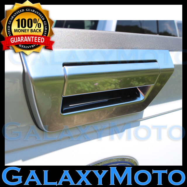 15-17 FORD F150 Ingot Silver Tailgate Door Handle Cover W/O Camera or  sc 1 st  eBay & 15-17 Ford F150 Ingot Silver Tailgate Door Handle Cover W/o Camera ...