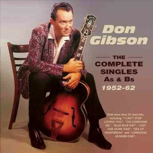 Don Gibson - Complete Singles A's & B's 1952-62 [New CD]