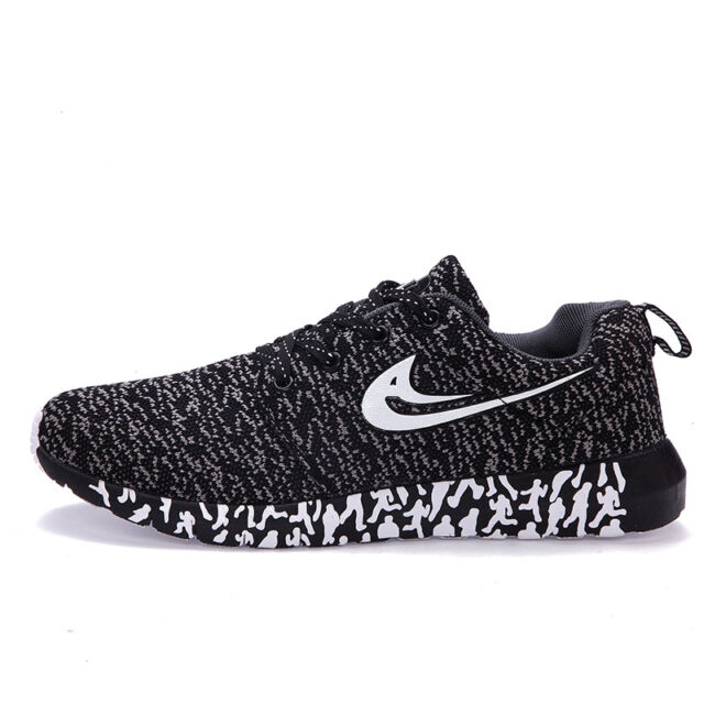 Men's SNEAKERS Casual Sport Athletic Trainers Lace up Running Shoes Fashion  Black 9. About this product. 2018 Fashion Men's Running Breathable Sports  Casual ...